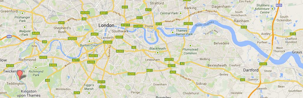 Themsen er Englands lengste elv